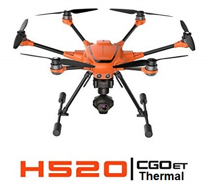 Typhoon H520 with CGOET Camera